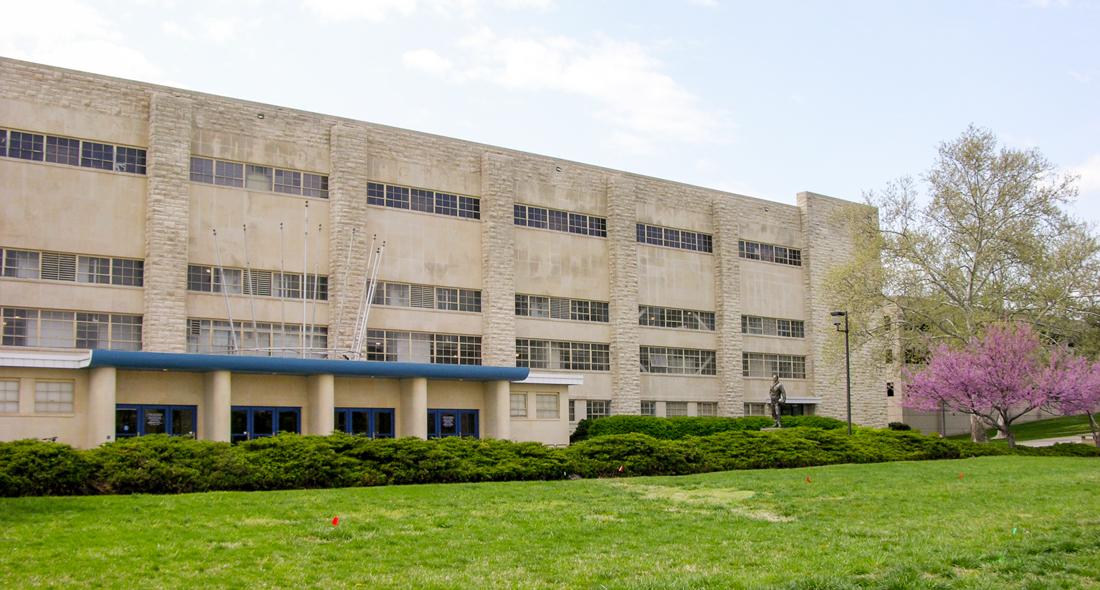 University Of Kansas Allen Fieldhouse Western
