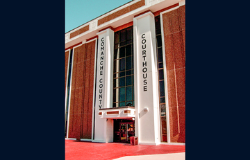 Comanche County Courthouse - Comanche County, OK