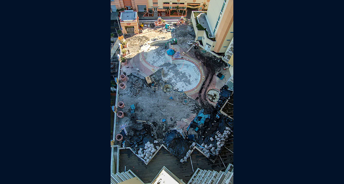 Wyndham Resort Pool Renovation Western Specialty
