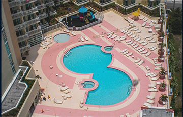 Wyndham Resort Pool Renovation - North Myrtle Beach, SC