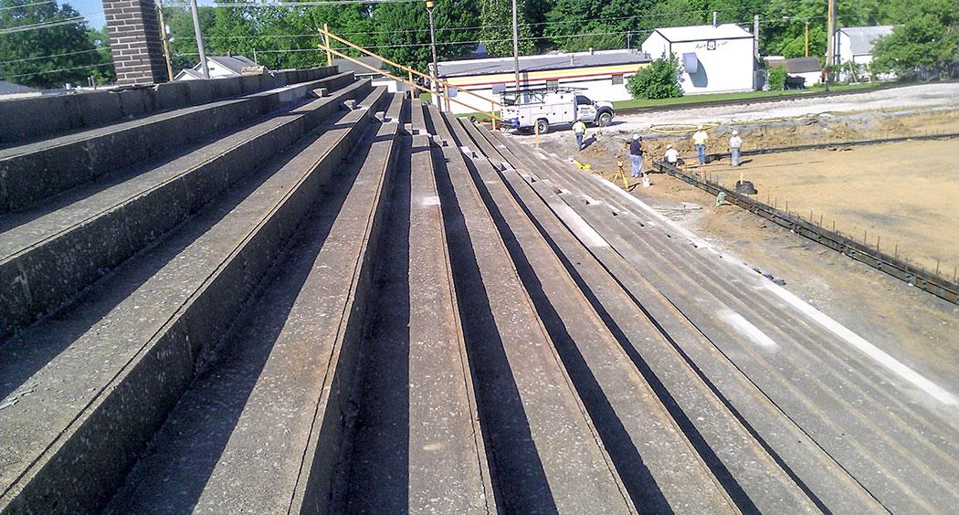 Lindenwood Stadium Western Specialty Contractors