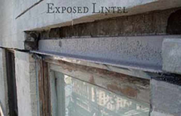 challenge solution lintel repair western specialty contractors