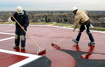 Saint Joseph's Hospital Helipad - Denver, Colorado