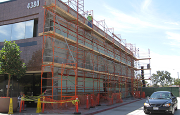 Bank of America - Scaffolding
