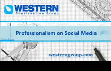 Professionalism on Social Media
