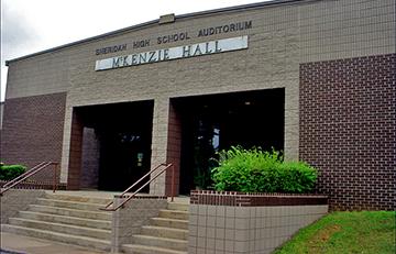 Sheridan High School Mckenzie Hall Fine Arts Building