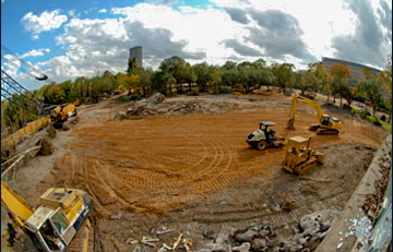 Pre-construction at the Houston Zoo - Houston, Texas