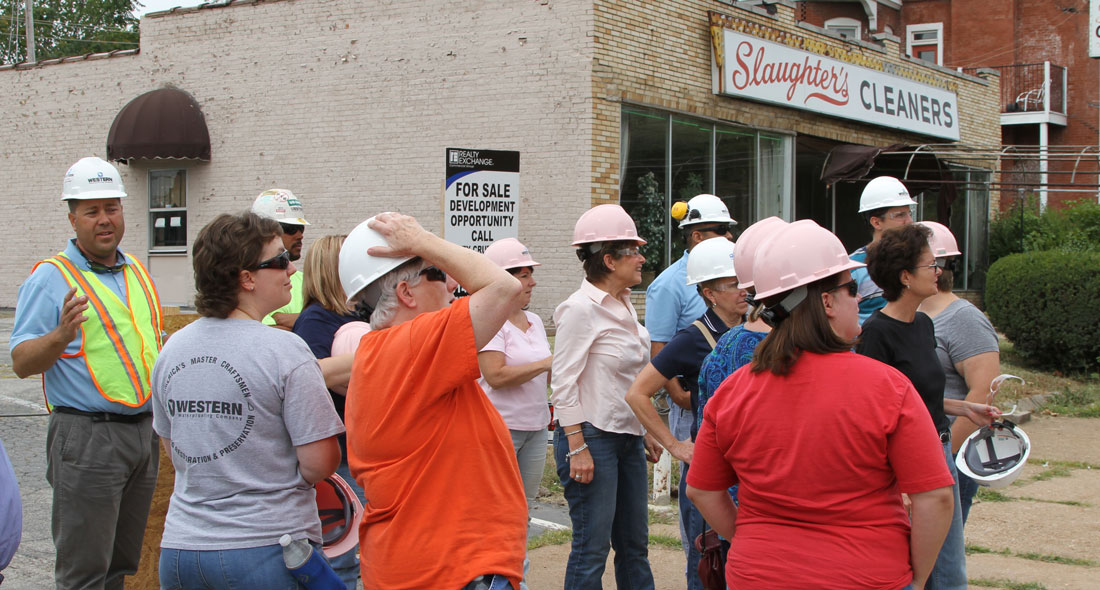 Western S Summer Field Trip To Freedom Place Jobsite