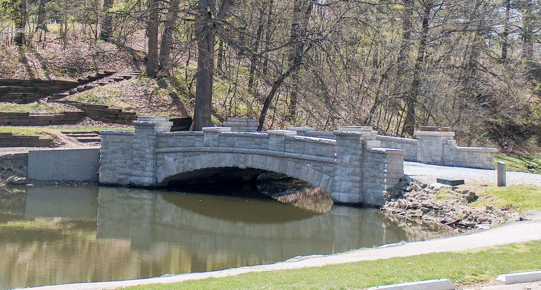 Lincoln Park Lagoon Bridge Western Specialty Contractors
