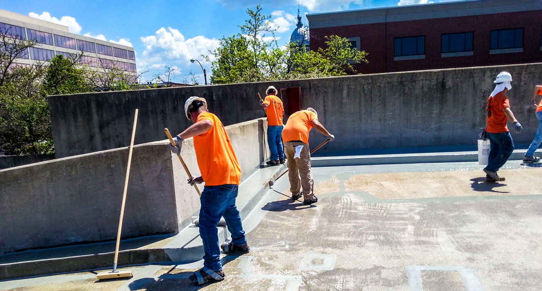 Willard Ice Parking Garage Western Specialty Contractors