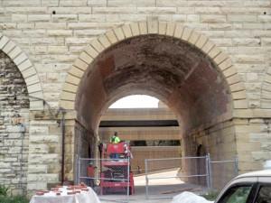 Repairs on 12-16 feet side walls (2)