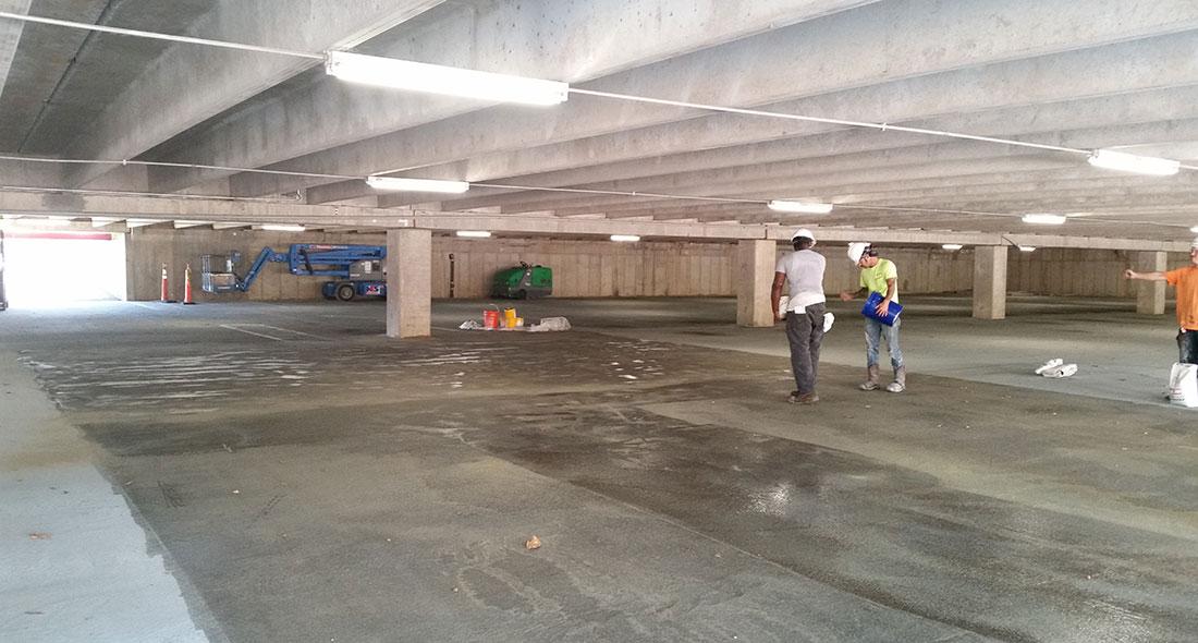 Kirkpatrick Plaza Parking Deck Western Specialty Contractors