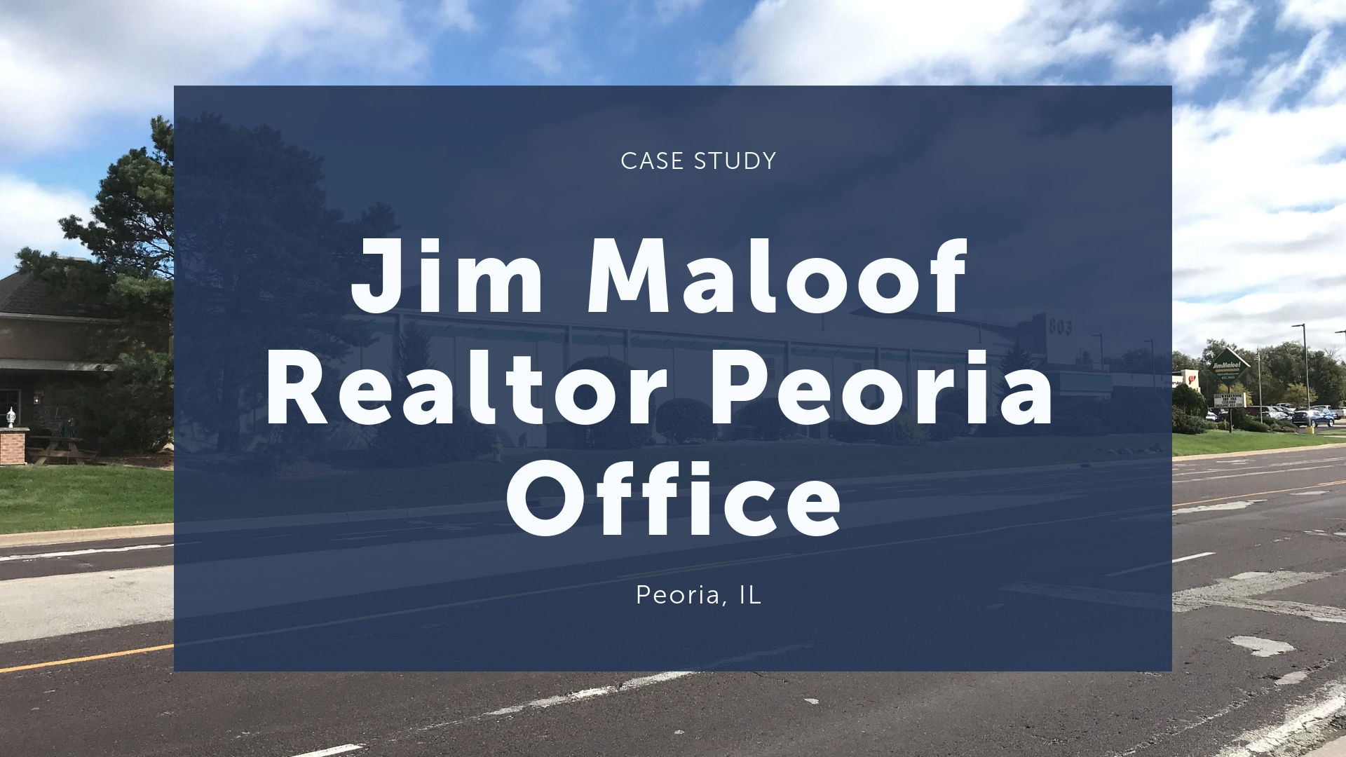 Jim Maloof Realtor Peoria Office Western Specialty