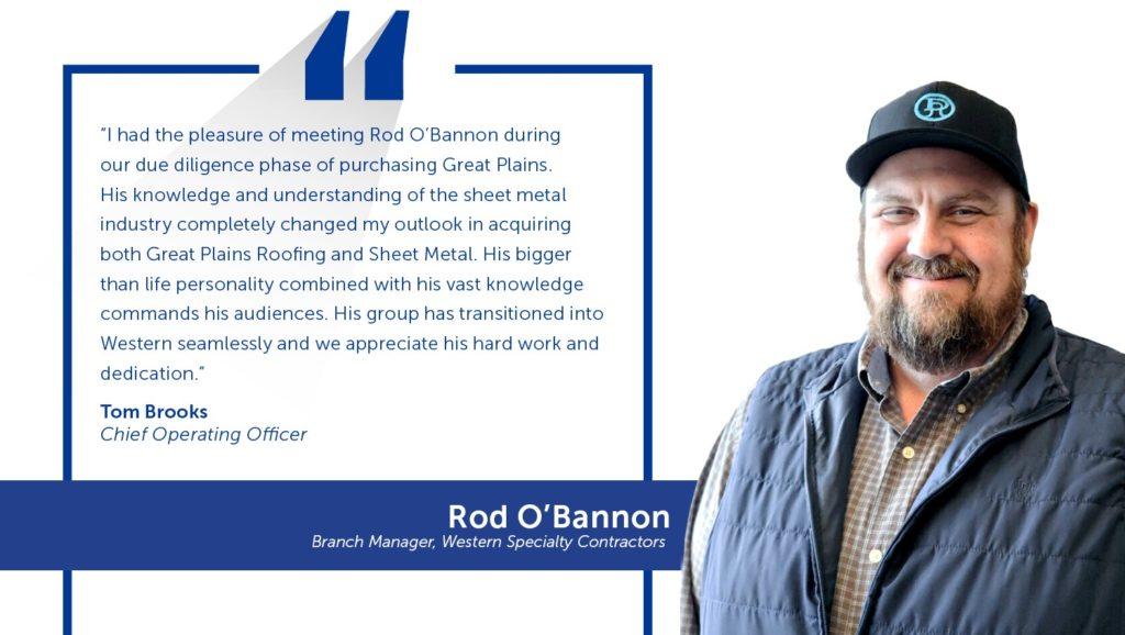 Employee Spotlight: Rod O'Bannon