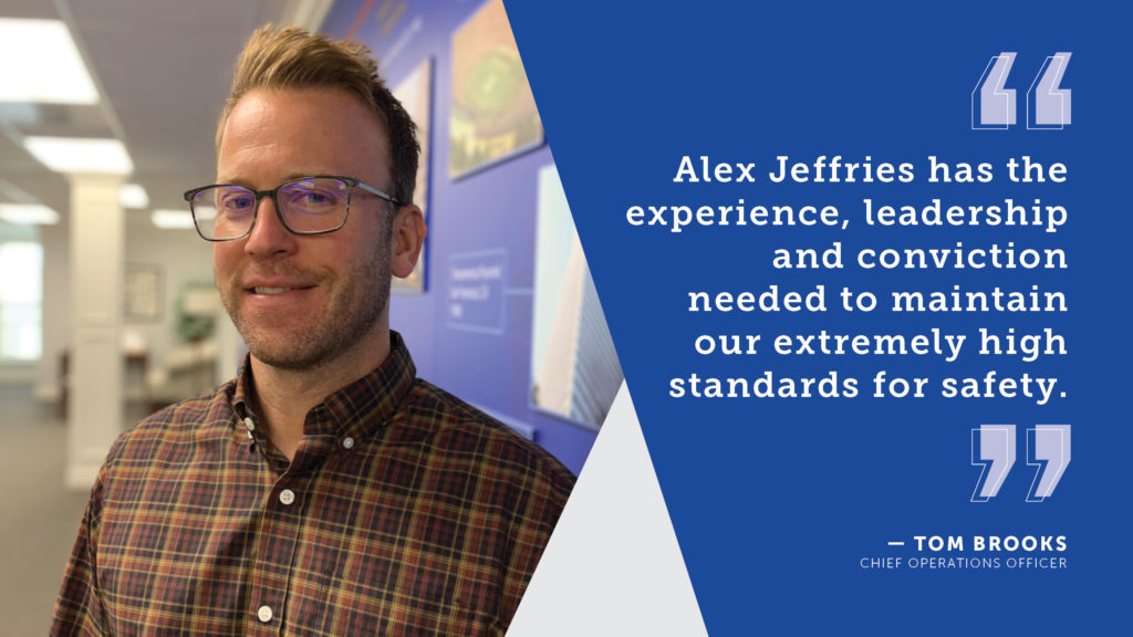 Alex Jeffries Hired as New Safety Director