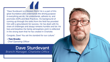 Employee Spotlight: Dave Sturdevant